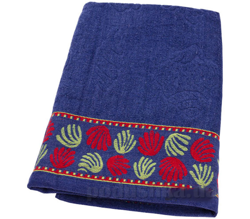 Пляжное полотенце Belle-Textile Ракушка Blue