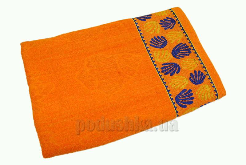 Пляжное полотенце Belle-Textile Ракушка Orange