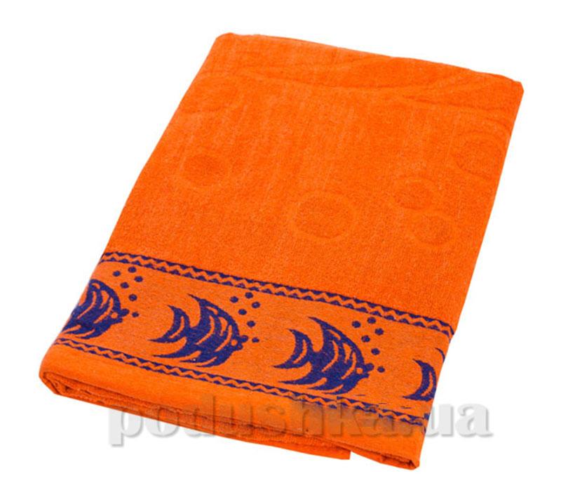 Пляжное полотенце Belle-Textile Рыбки Orange