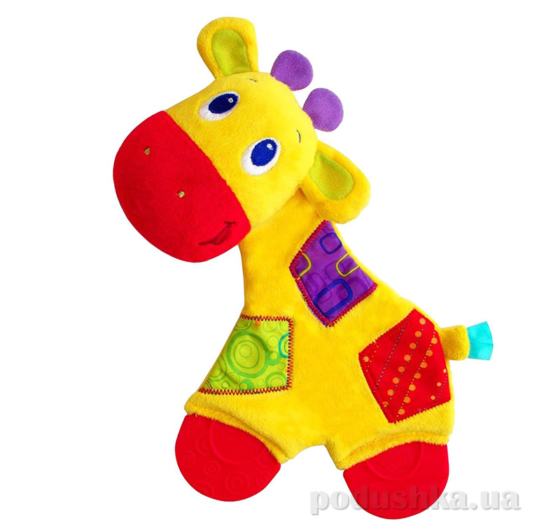 Плюшевая игрушка-прорезыватель Жираф Bright Starts