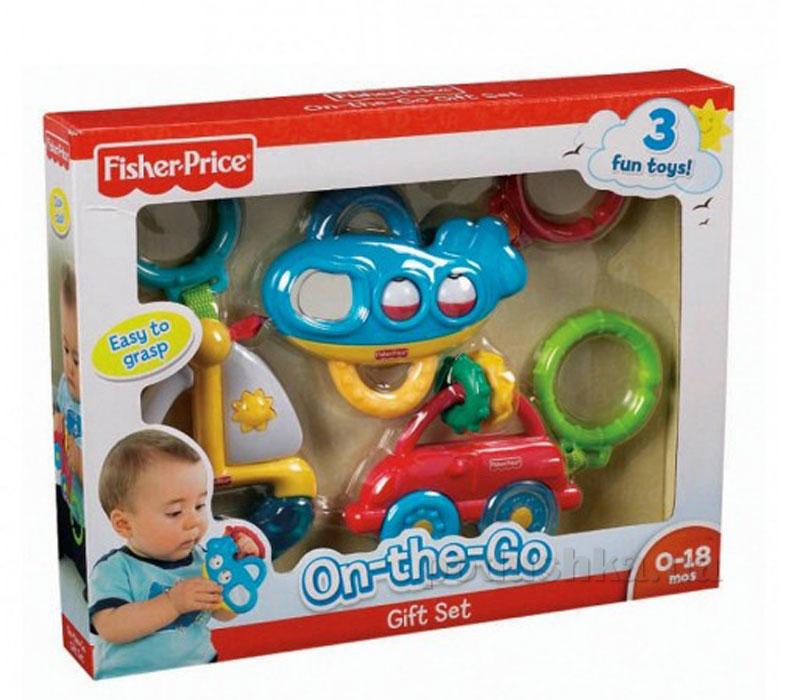 Подарочный набор погремушек для мальчика