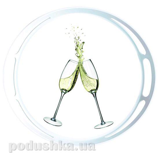 Поднос круглый Classic Champagne Emsa EM509403   EMSA