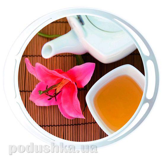 Поднос круглый Classic Tea time Emsa EM509405   EMSA