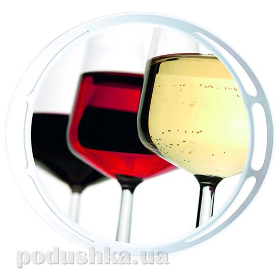 Поднос круглый Classic Wine glasses Emsa EM509404   EMSA