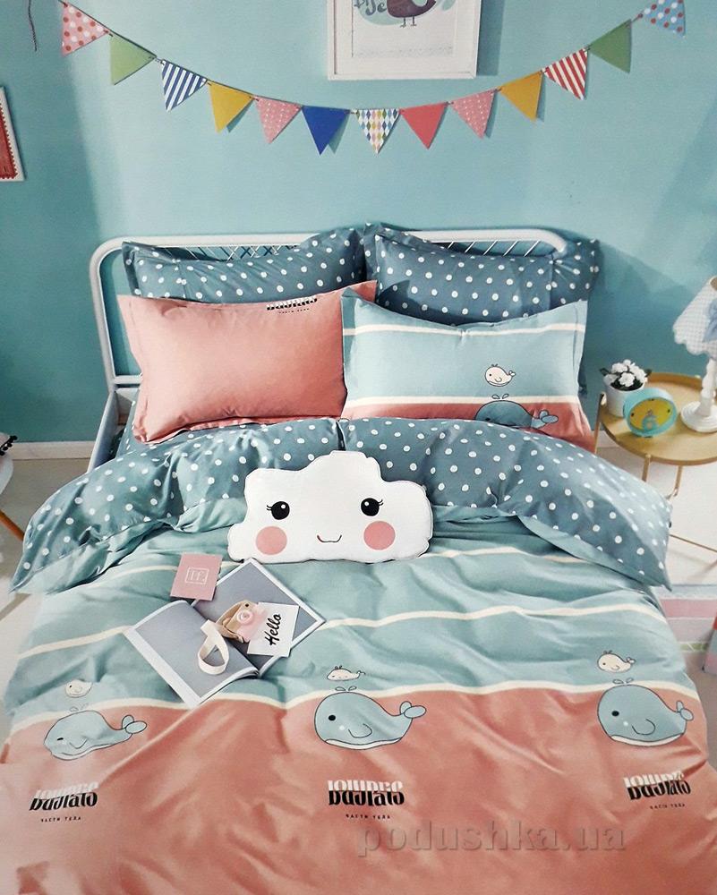 Подростковое постельное белье Alltex сатин 210081