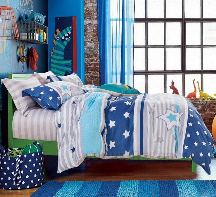 Подростковое постельное белье Bella Villa B-0073 сатин
