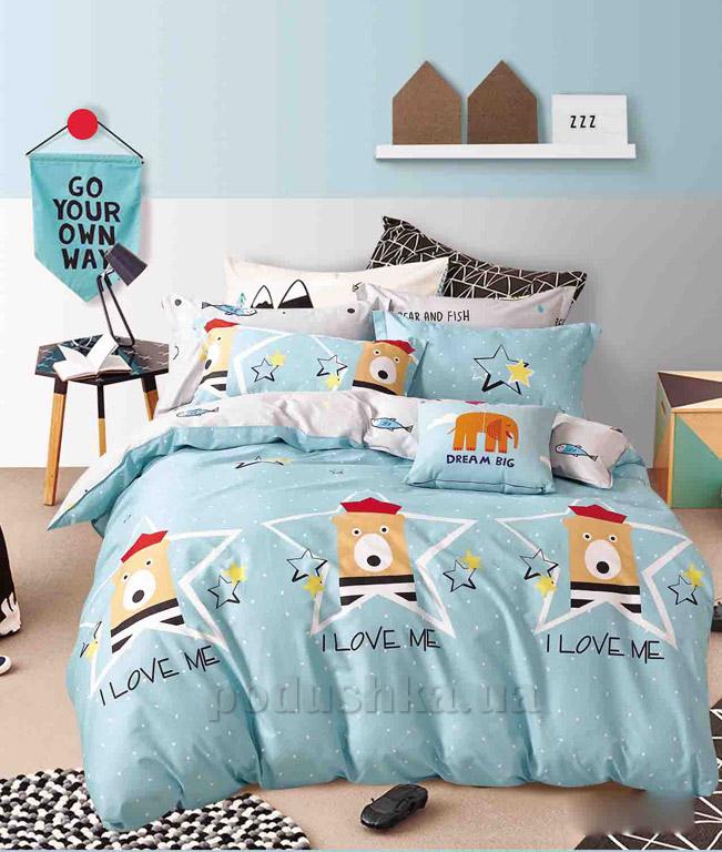 Подростковое постельное белье Bella Villa B-0089 сатин
