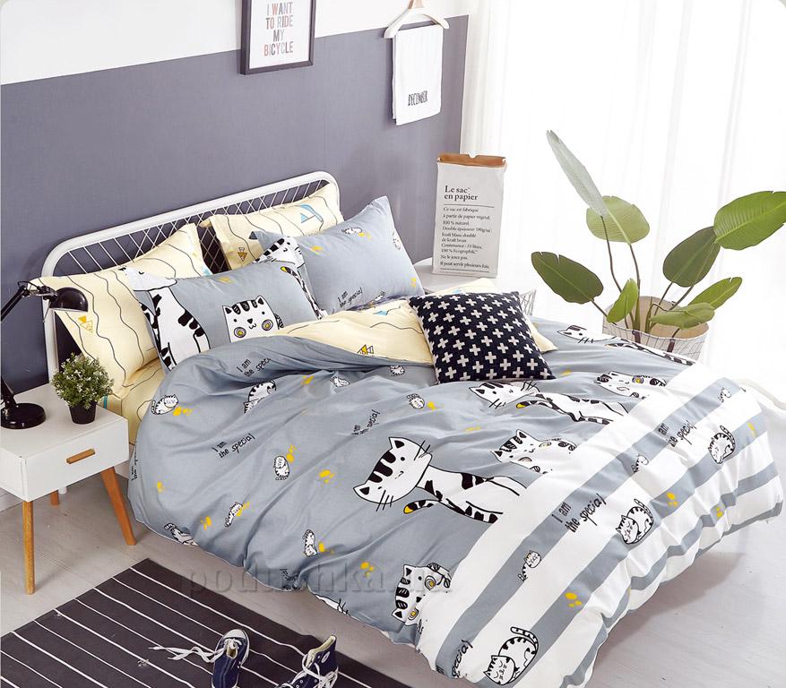 Подростковое постельное белье Bella Villa сатин B-0123