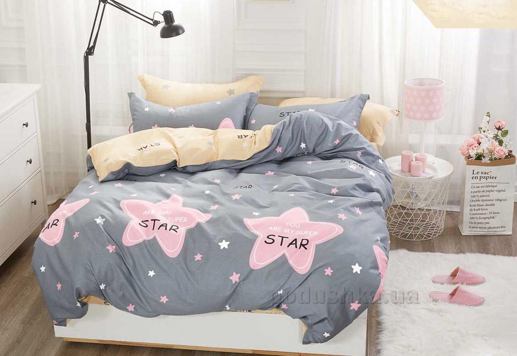 Подростковое постельное белье Bella Villa сатин B-0124