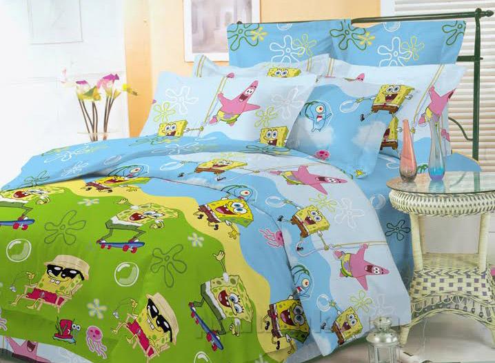 Подростковое постельное белье Билана Губка Боб