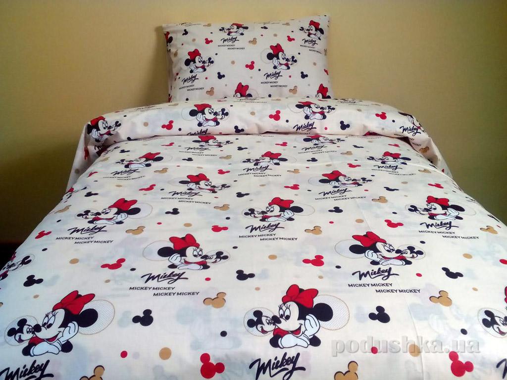 Подростковое постельное белье Билана Мышки