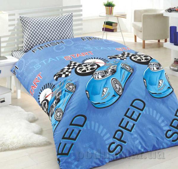 Подростковое постельное белье Eponj Jet araba mavi
