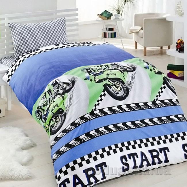 Подростковое постельное белье Eponj Jet motor mavi