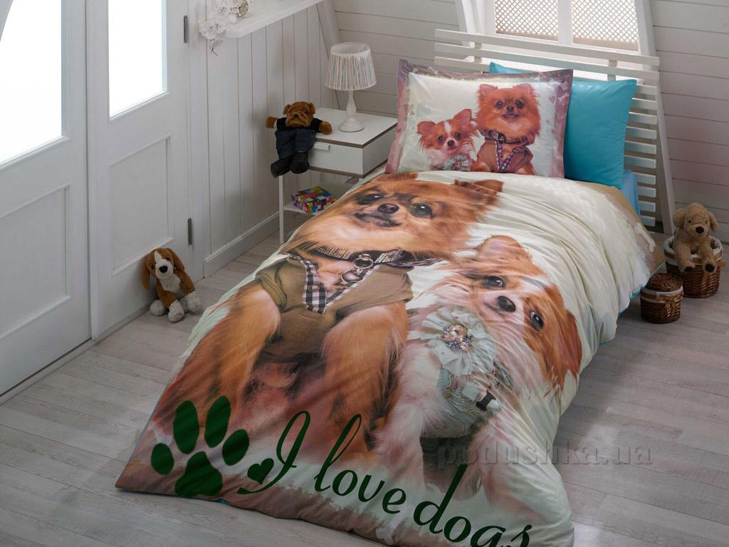 Подростковое постельное белье Hobby 3D Poplin Buddy