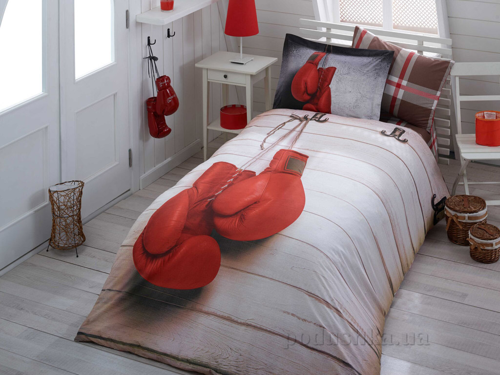 Подростковое постельное белье Hobby 3D Poplin Champion