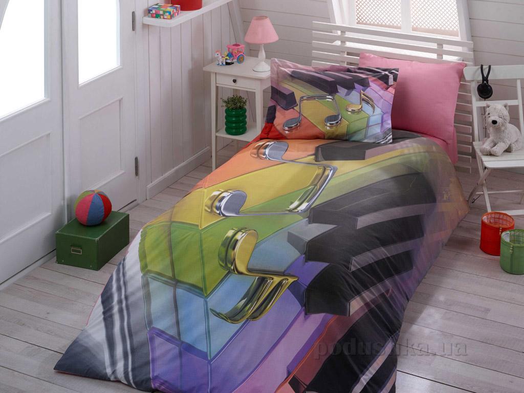 Подростковое постельное белье Hobby 3D Poplin Melody