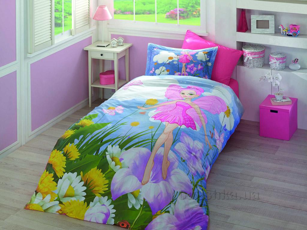 Подростковое постельное белье Hobby 3D Poplin Stella