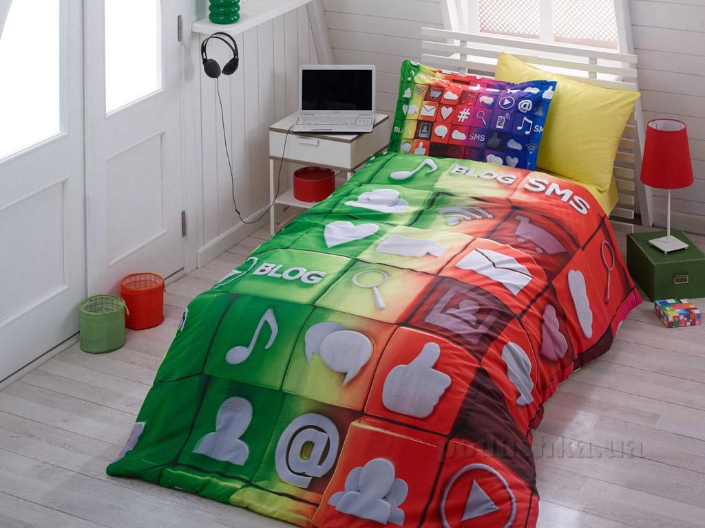 Подростковое постельное белье Hobby 3D Poplin Tweet