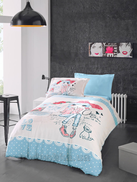 Подростковое постельное белье Luoca Patisca Clarice