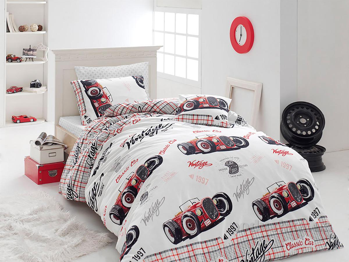 Подростковое постельное белье Nazenin Old car