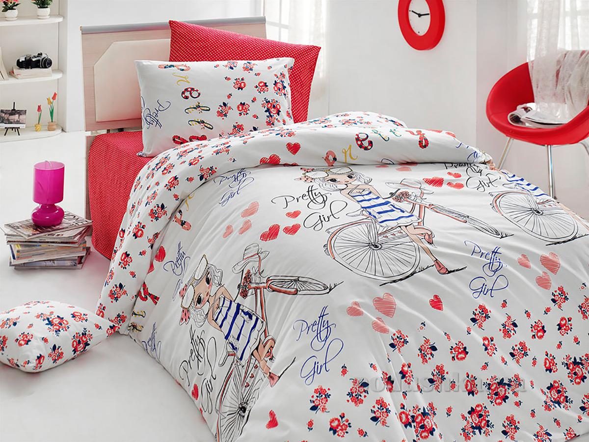 Подростковое постельное белье Nazenin Pretty