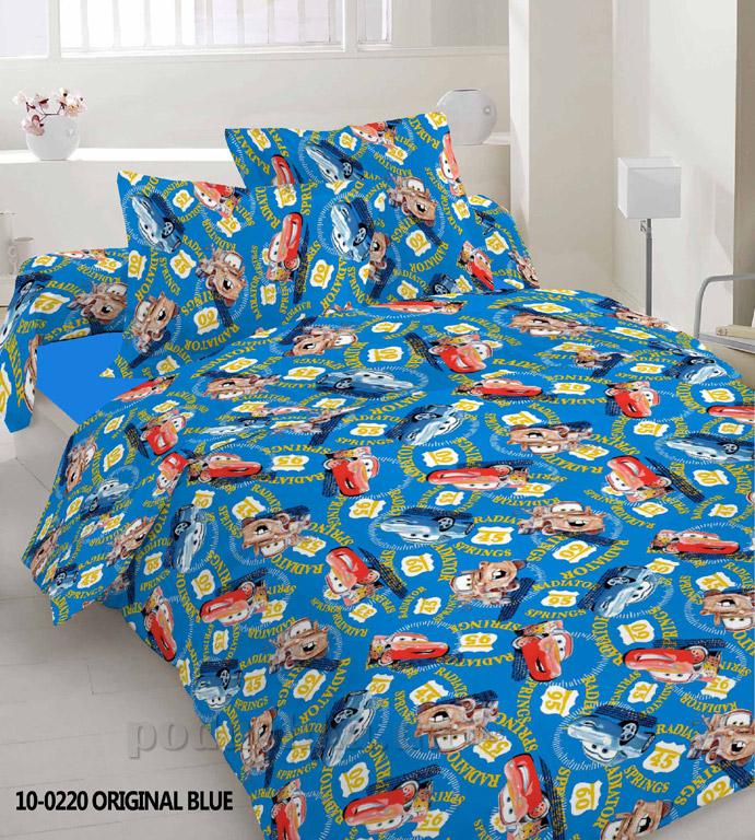 Подростковое постельное белье Nostra 10-0220 Original blue Подростковый комплект  TM Nostra
