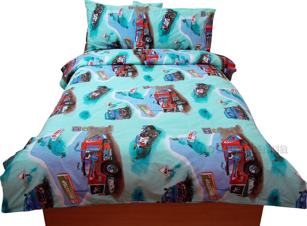 Подростковое постельное белье Руно бязь GBL-0669 blue