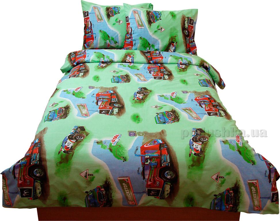 Подростковое постельное белье Руно бязь GBL-0669 green