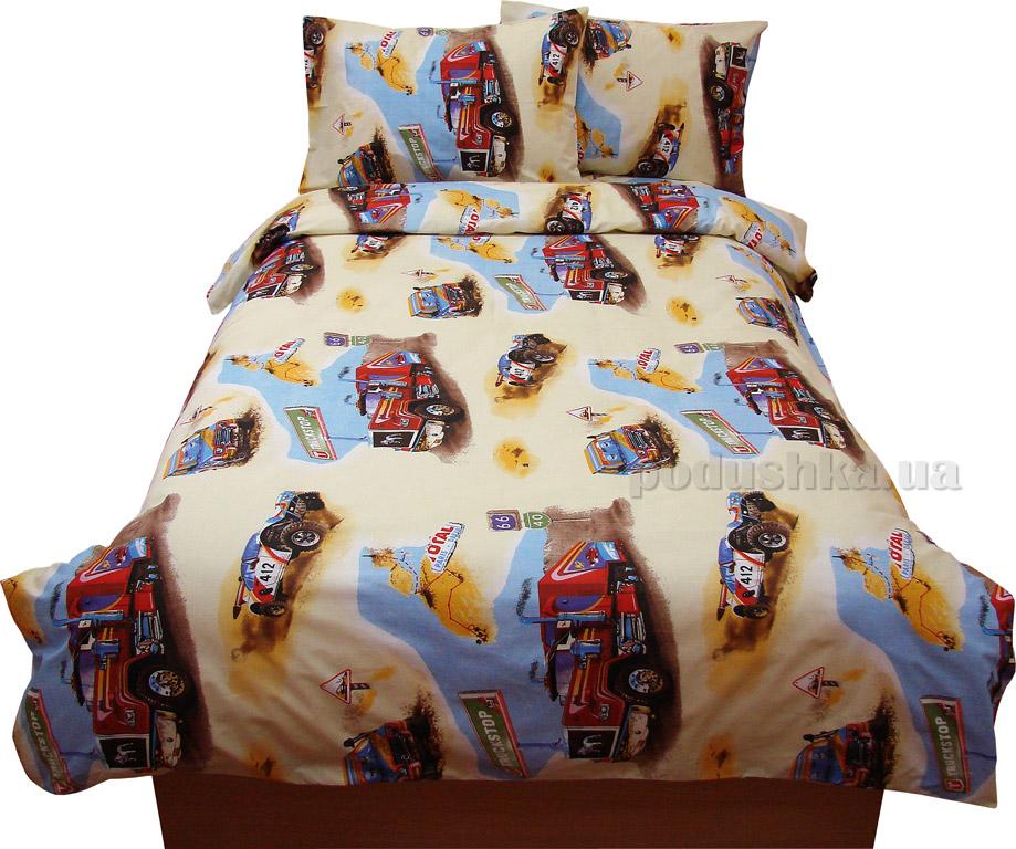 Подростковое постельное белье Руно бязь GBL-0669 yellow