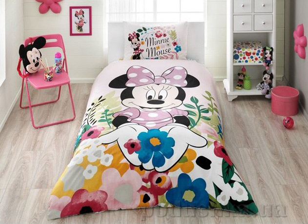 Подростковое постельное белье TAC Disney Minnie glitter