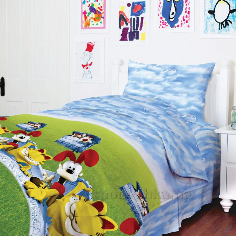 Подростковое постельное белье ТЕП Гарфилд 950