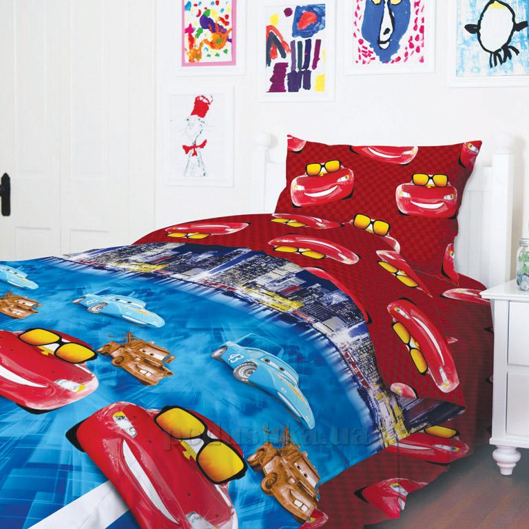 Подростковое постельное белье ТЕП Машинки 949