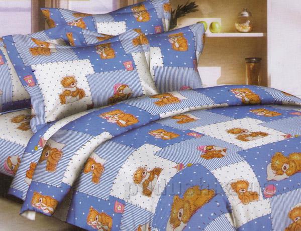 Подростковое постельное белье Вилюта 3555 голубое