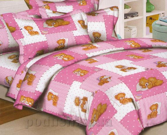 Подростковое постельное белье Вилюта 3555 розовое