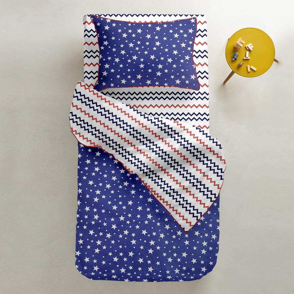 Подростковый комплект постельного белья Cosas StarBlue Zig 155