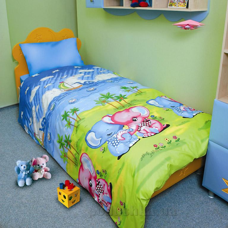 Подростковый комплект постельного белья ТЕП Слоники 537