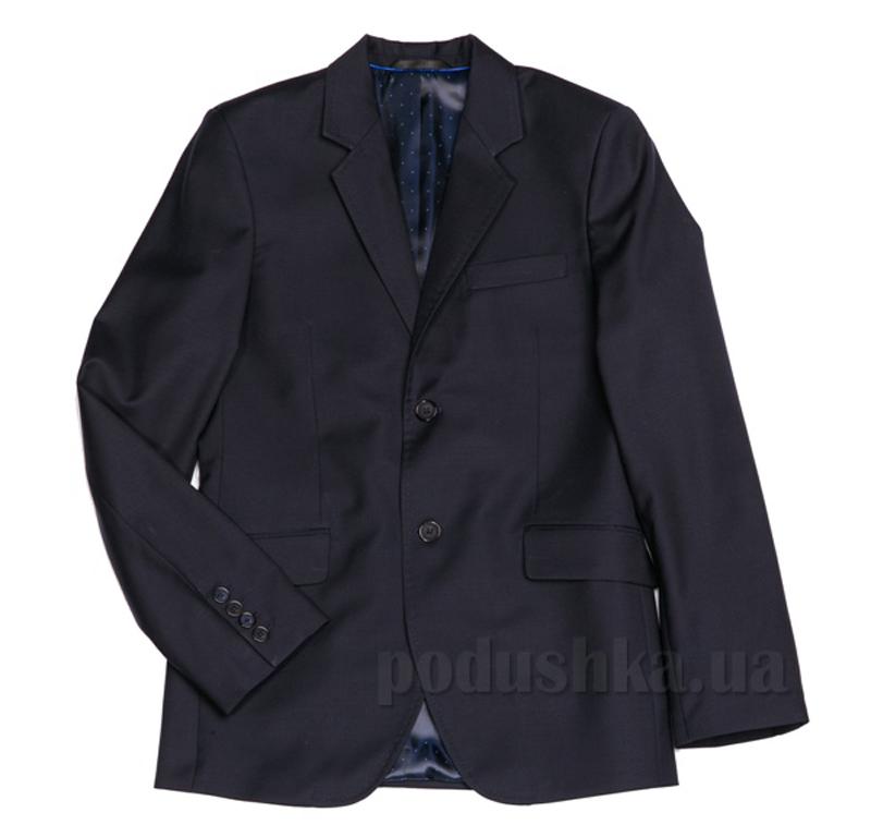 Подростковый школьный пиджак Юность 206 синий