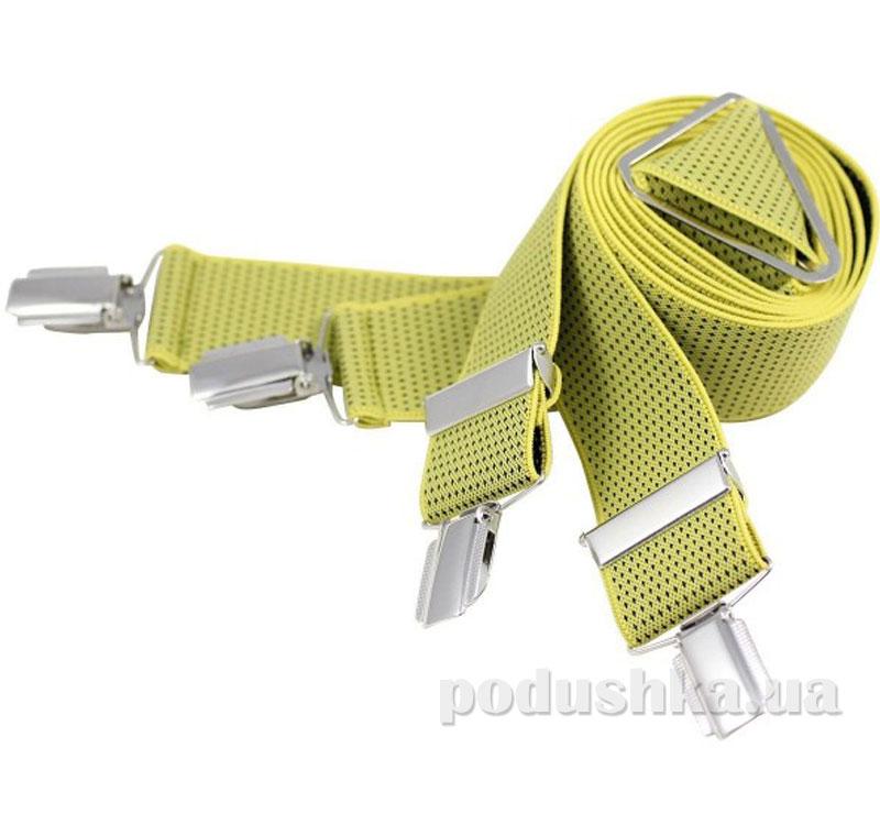 Подтяжки 35 мм Lindenmann 7545-03 желтые