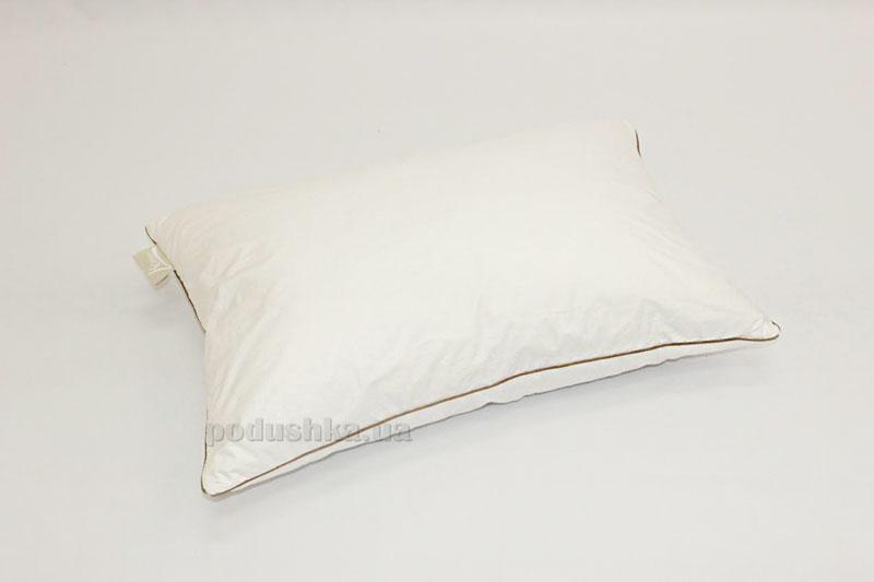 Подушка белая Homefort 20% пуха, 80% пера