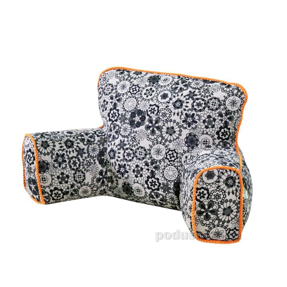 Подушка bq-style Ergo Lounge Doodle с оранжевым кантом