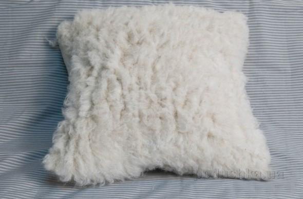 Подушка декоративная Devo home из конопляного меха