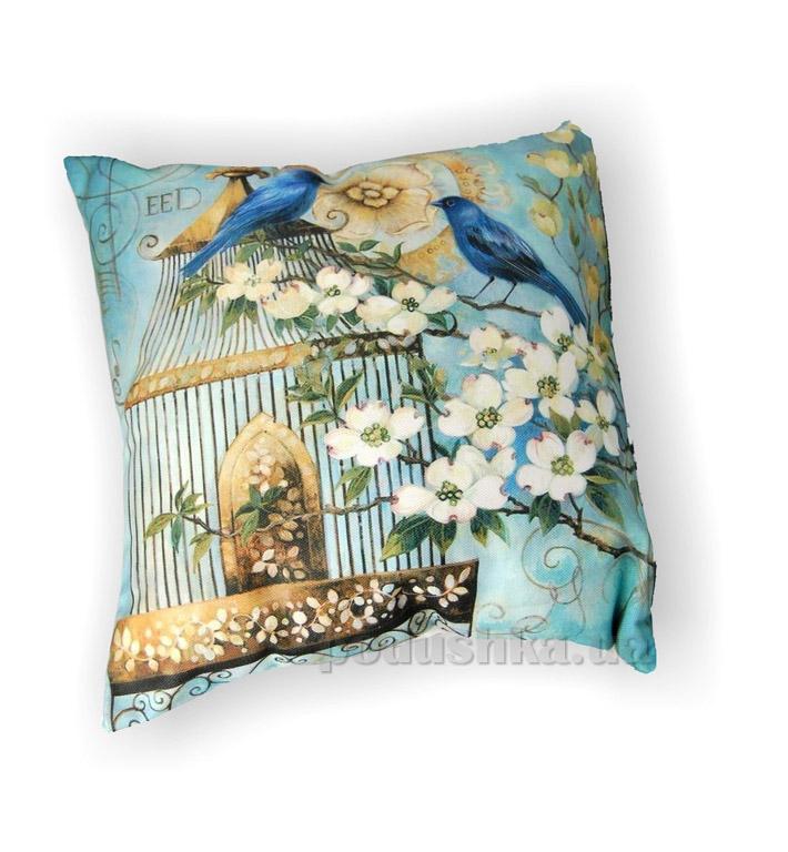 Подушка декоративная Home line Райские птицы