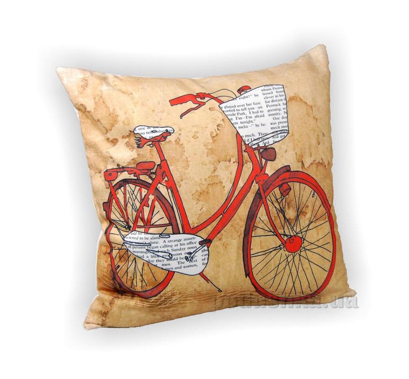 Подушка декоративная Home line Велосипед