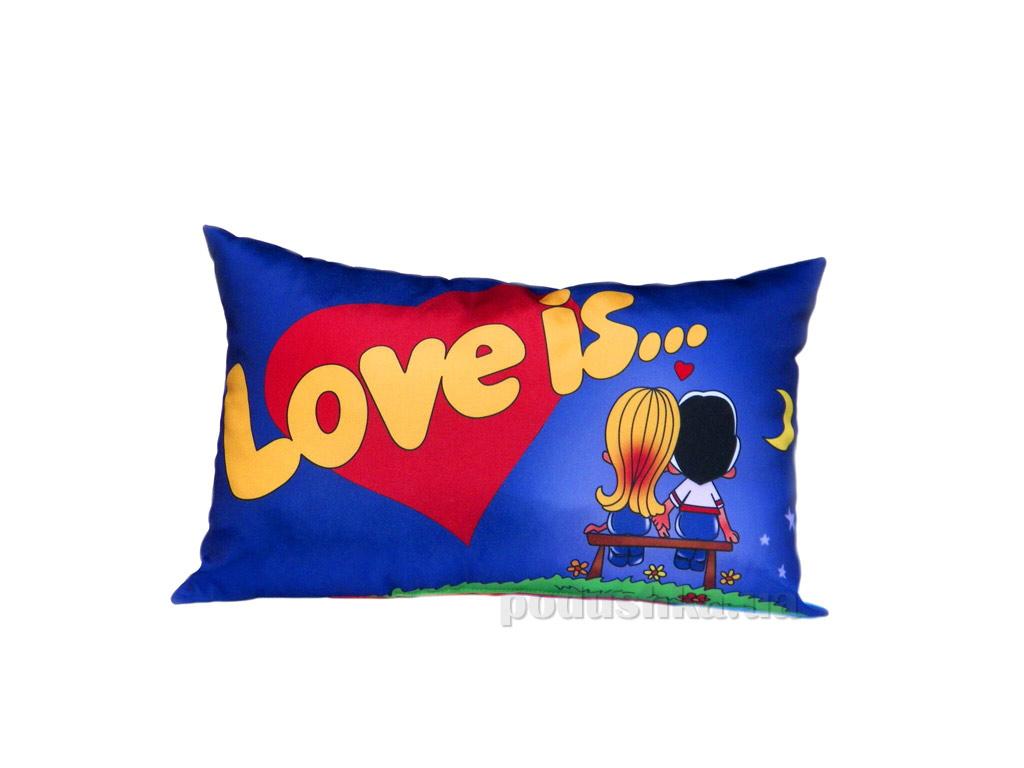 Подушка декоративная Izzihome Love is...