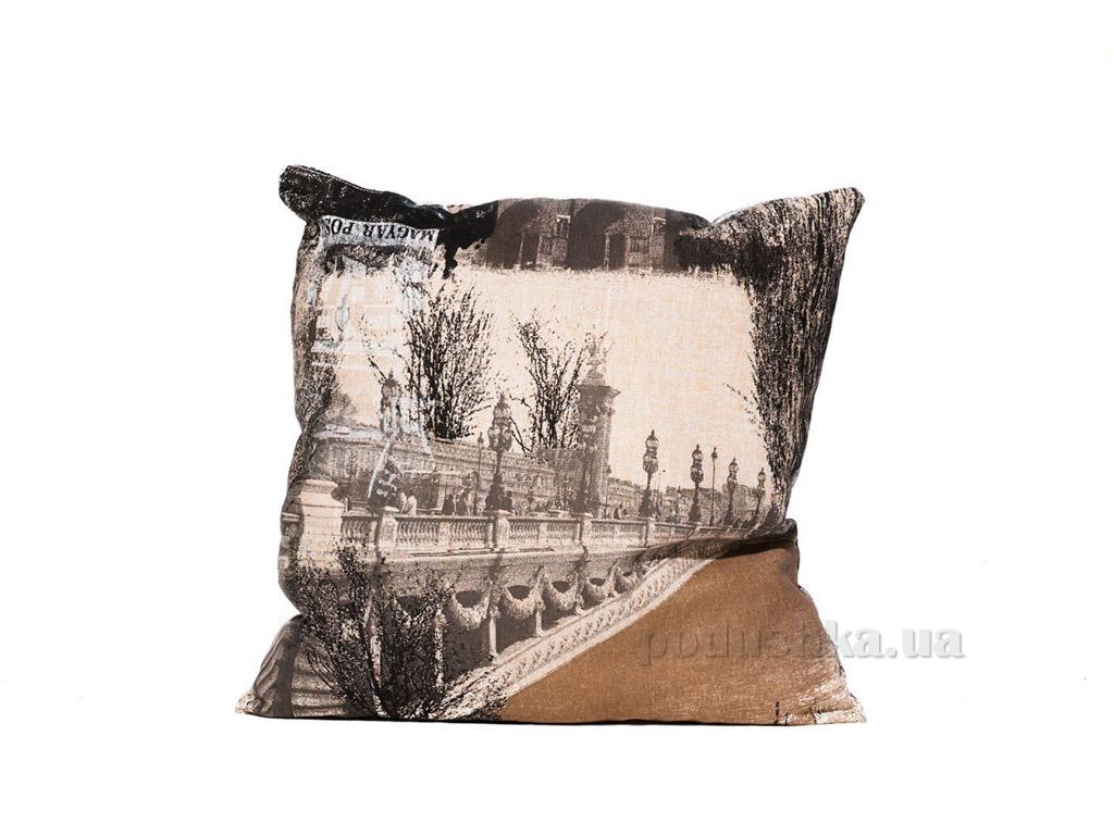 Подушка декоративная Izzihome Ночной Париж