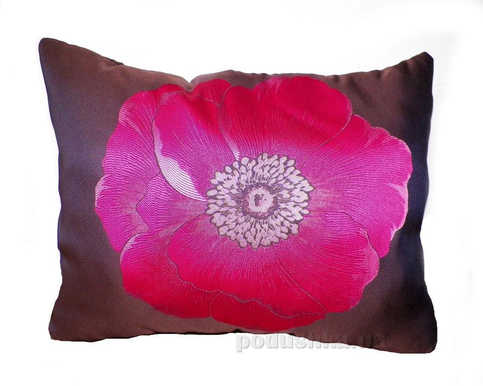 Подушка декоративная Izzihome панно Цветок