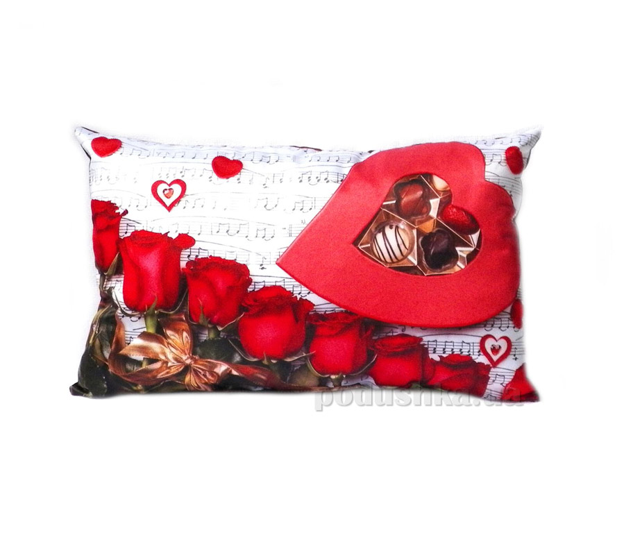Подушка декоративная Izzihome Симфония любви
