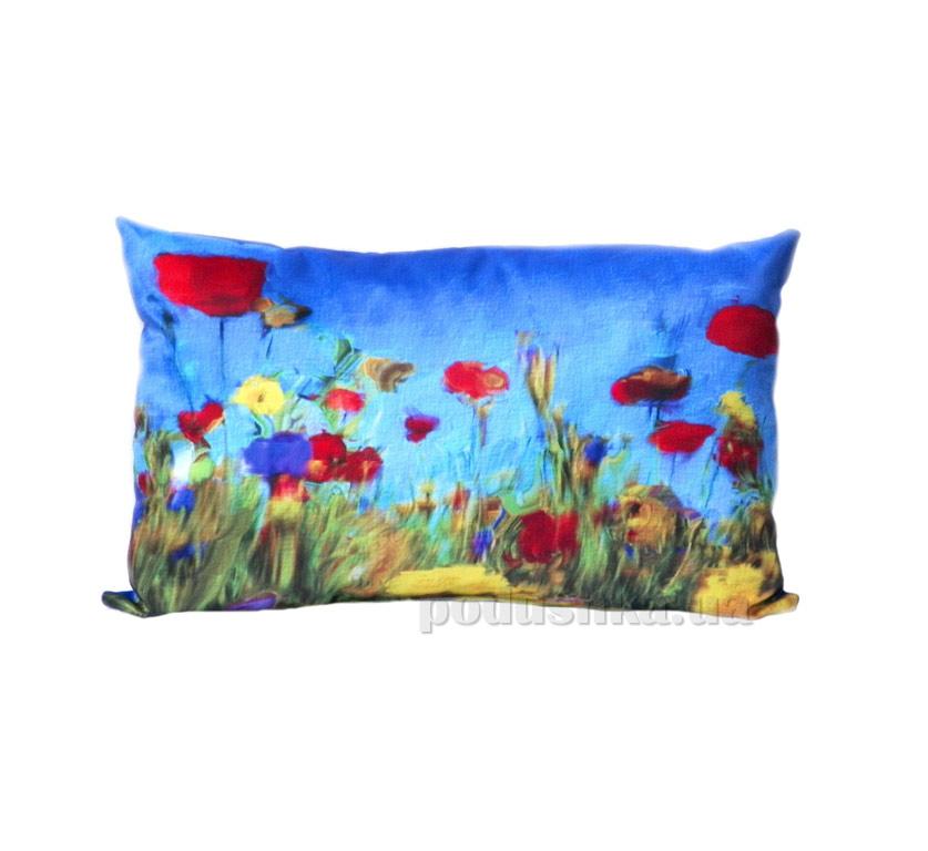 Подушка декоративная Izzihome Цветочное поле