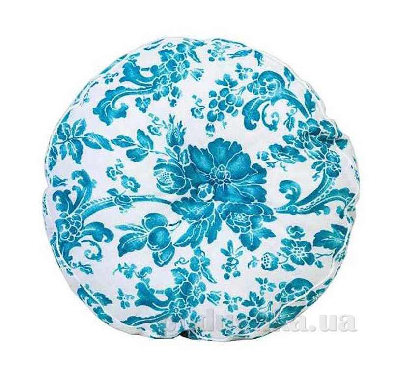 Подушка декоративная круглая Прованс Allure blue 50274