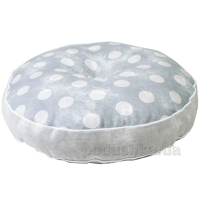 Подушка декоративная круглая Прованс Allure Горох 50293